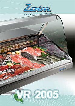 Flot køledisplay til fisk fra Zoin