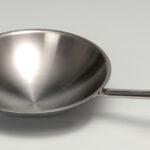 Wok pande i rustfrit stål
